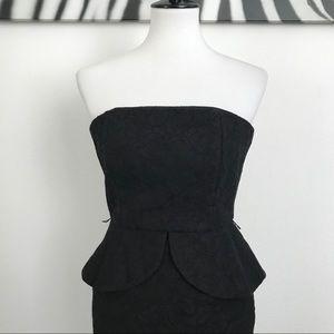 f06d1f2082 White House Black Market Dresses - REDUCED! NWOT GORGEOUS WHBM LACE PEPLUM  DRESS